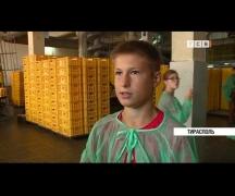 Участники лагеря «Дзержинец» посетили тираспольский хлебокомбинат