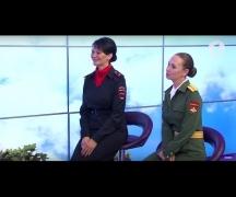 Девушки-участницы парада / Доброе утро, Приднестровье!