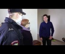 Милиционеры и врачи проверяют соблюдение гражданами карантина