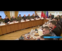 Президент ответил на вопросы будущих офицеров