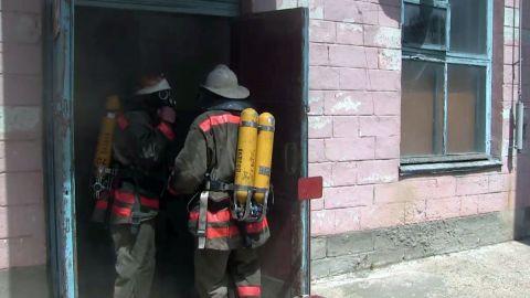 Пожар на « Днестрэнерго»